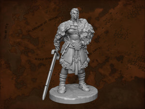 IWA1007 Female Giant Resin Figure 75mm High