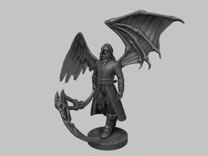 IWA5004 28mm Raven Figure Stl
