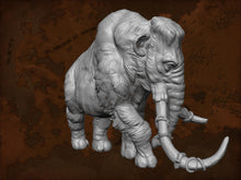 Load image into Gallery viewer, IWA1001 Resin Mammoth No Saddle