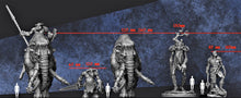 Load image into Gallery viewer, IWA1008 Gate Guardian Giant Resin Figure 85mm High