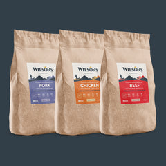working dog cold pressed dog food