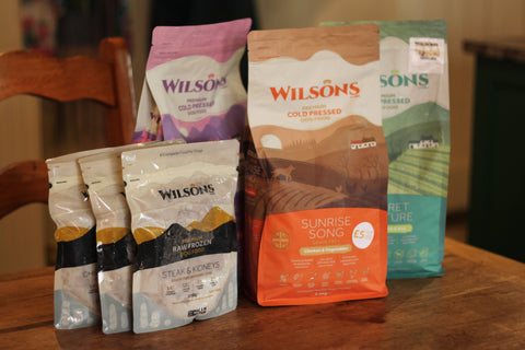 Wilsons Pet Food Cold Pressed Raw Frozen Dog Food