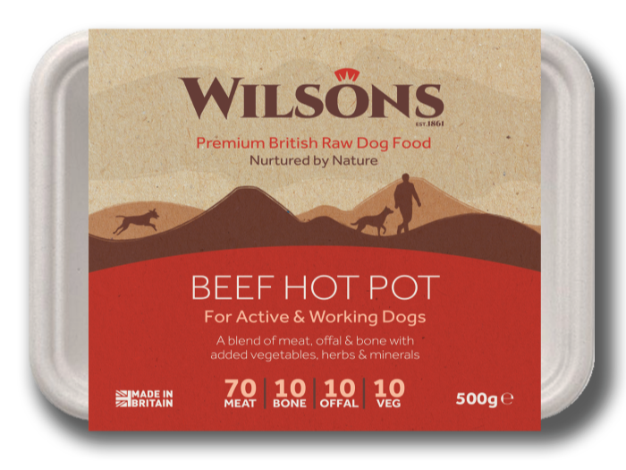 Beef Hot Pot Premium Raw Frozen Dog Food