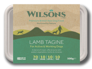 Lamb Tagine Premium Raw Frozen Dog Food