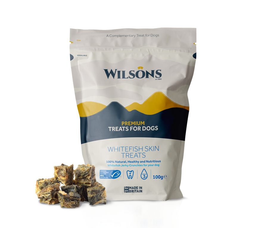 Whitefish Skin Dog Treats