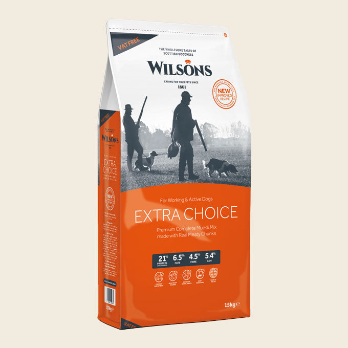 Extra Choice Working Dog Food - Wilsons Pet Food