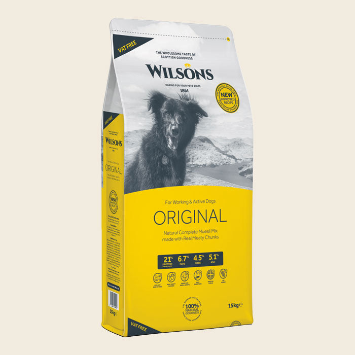 Original Working Dog Food - Wilsons Pet Food