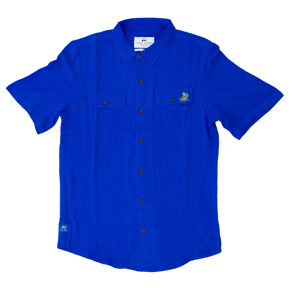 Pocket Lodge S/S Shirt (Deep Marine)