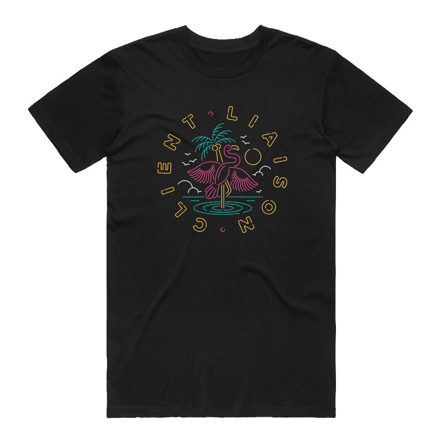 Flamingo Tee (Black)