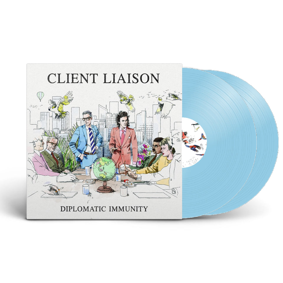 "Diplomatic Immunity 12"" Vinyl (Electric Eye Blue)"