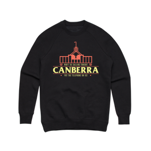Canberra (Black) Crewneck Sweater