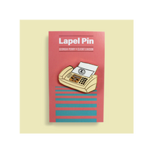 Load image into Gallery viewer, Fax Machine Lapel Pin