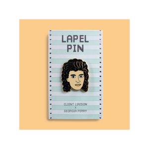 Monte Morgan Lapel Pin