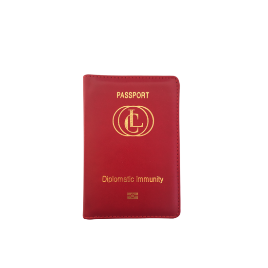 Diplomatic Immunity Passport Wallet