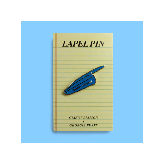Pen Lid Lapel Pin