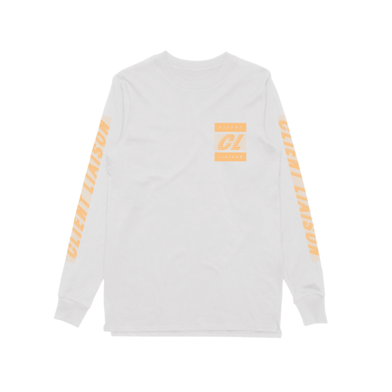 Speed 1.0 Peach (White) Longsleeve