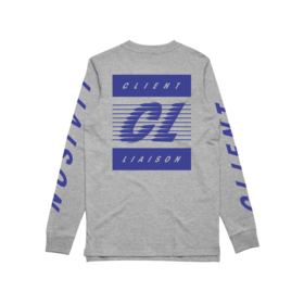 SPEED REMIX (Grey Marl) Longsleeve // LIMITED EDITION