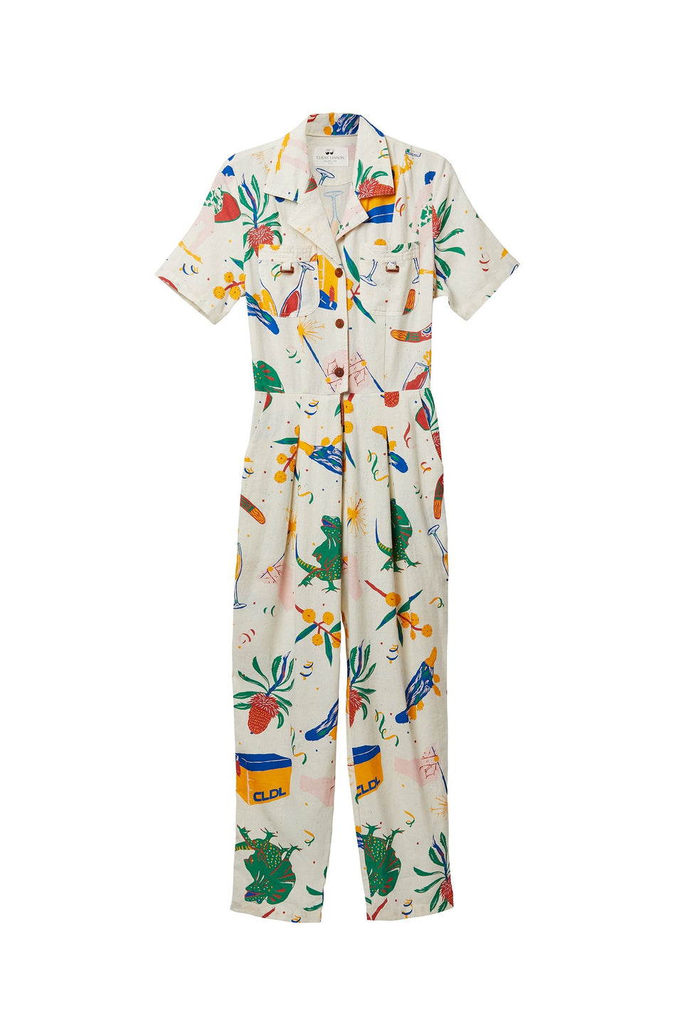 Long Lunch Jumpsuit (CLDL-030)