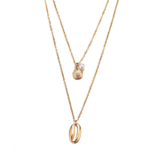 Shell Gold ketting