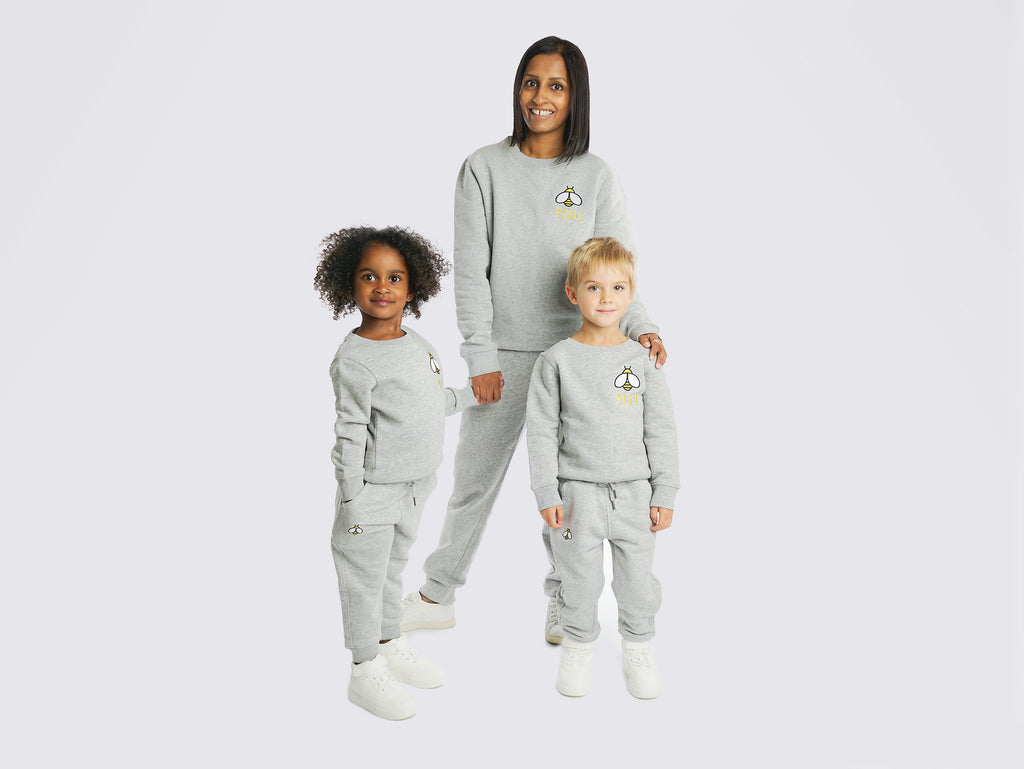ADULT BEE YOU SWEAT & JOGGER SET