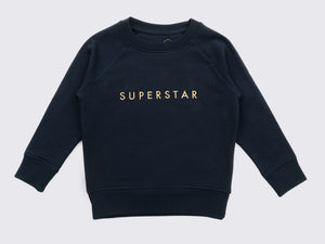 SUPERSTAR METALLIC NAVY