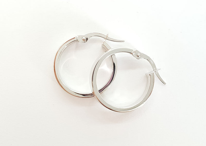 Silver Earrings | EZ1338