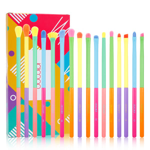 Dream of Color - 16 Pieces Eye Makeup Brush Set