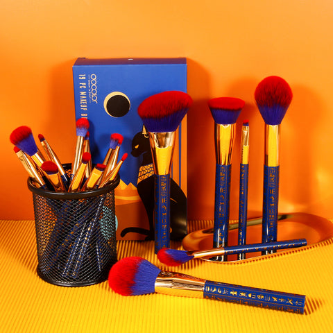 Bastet Cat - 19 pieces Makeup Brush Set