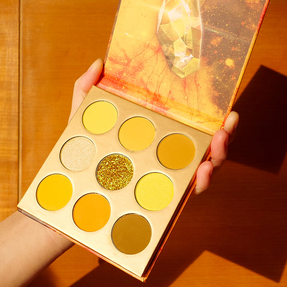Mind - 9 Colors Shadow Palette (Yellow)
