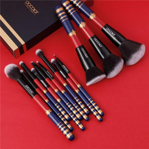 12 Pieces Starlight Goddess Brush Set DOCOLOR OFFICIAL
