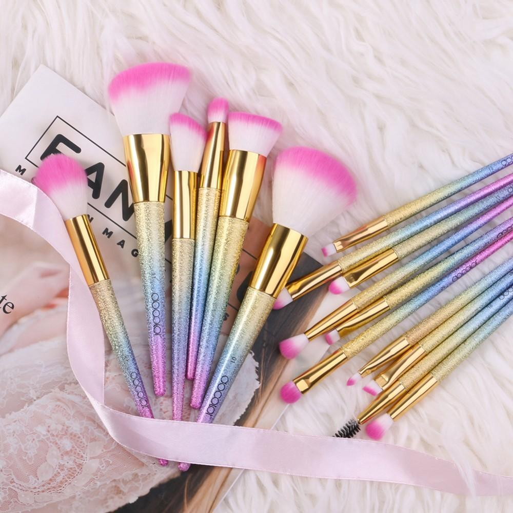 16 Pieces Fantasy Makeup Brush Set DOCOLOR OFFICIAL