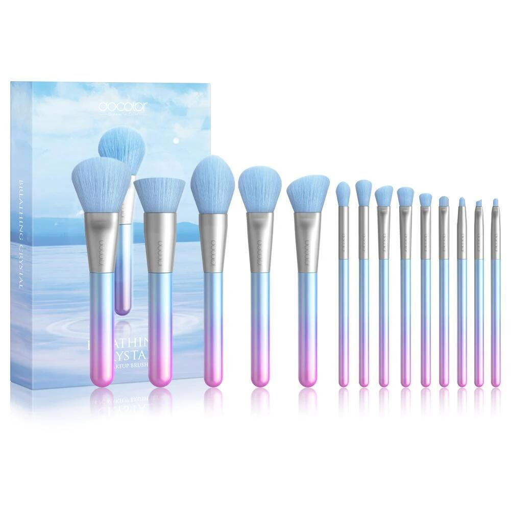 Breathing Crystal - 14 piece Makeup Brush Set