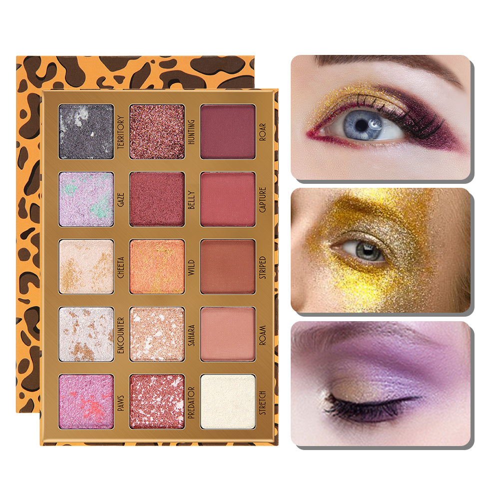 Leopard 15 Color Eyeshadow Palette