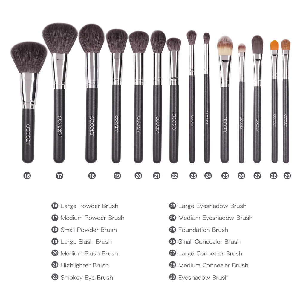 (Free Shipping) Studio Series Professional - 29 Pieces Book Makeup Brush Set