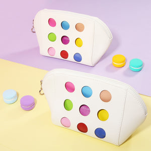 Recessed luxury makeup bag