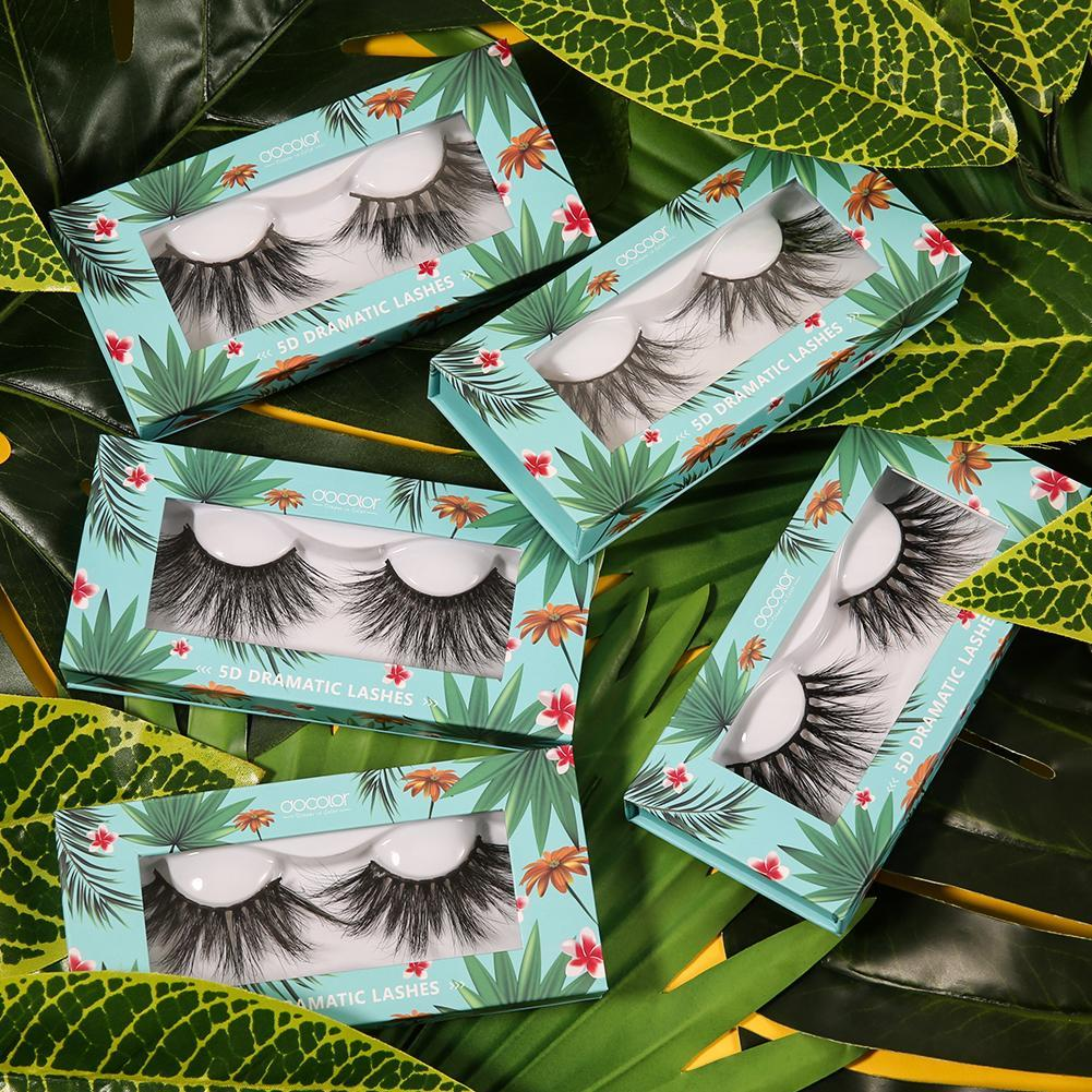 5D Dramatic Mink Lashes Collection ( 5 Pairs ) DOCOLOR OFFICIAL