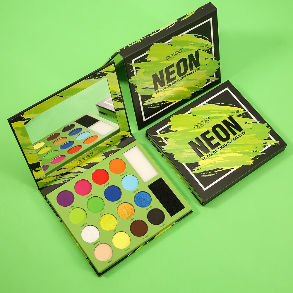Neon - 16 Color Shadow Palette