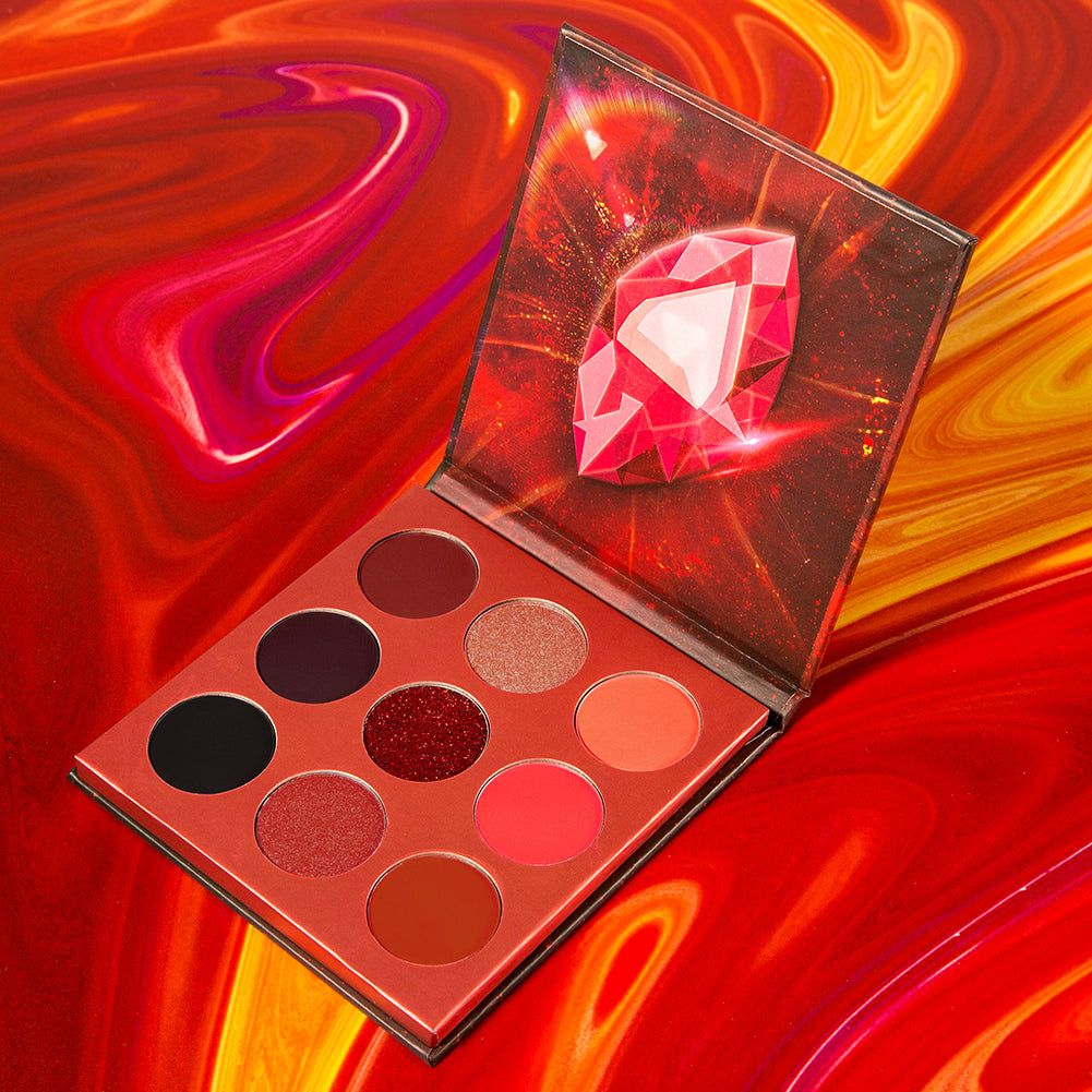 Reality - 9 Colors Shadow Palette (Red)