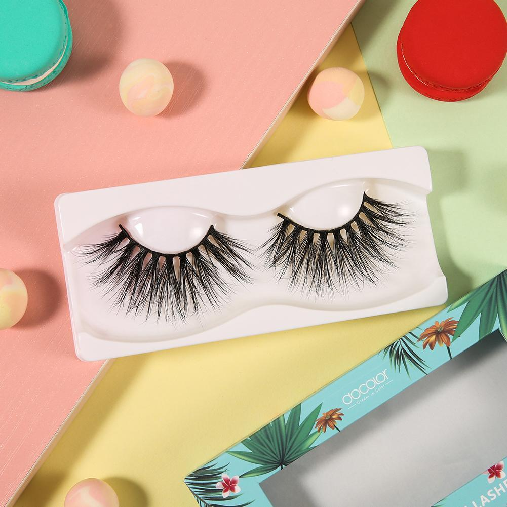 Adios, Beaches! 5D Dramatic Mink Lashes (One Pair) DOCOLOR OFFICIAL