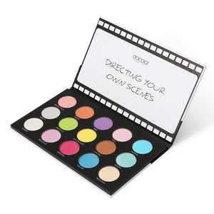 15 Color Scene Stealer Eye Shadow Palette & 4 PC Eye Makeup Brush
