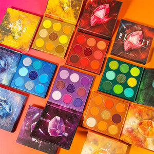 Gemstone Collection - 9 Colors Shadow Palettes DOCOLOR OFFICIAL