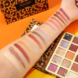 Leopard 15 Color Eyeshadow Palette DOCOLOR OFFICIAL