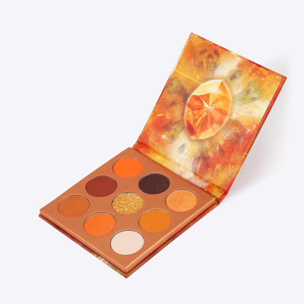Soul - 9 Colors Shadow Palette (Orange)