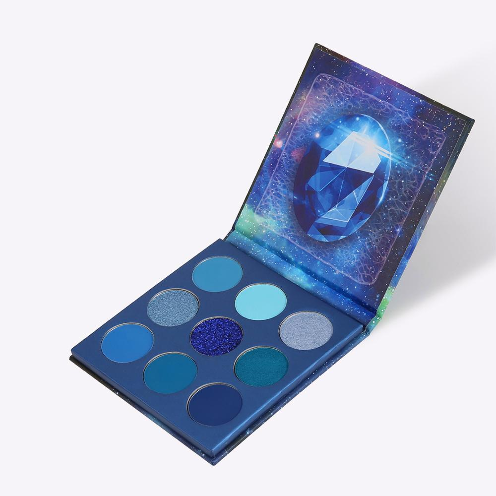 Space - 9 Colors Shadow Palette (Blue)