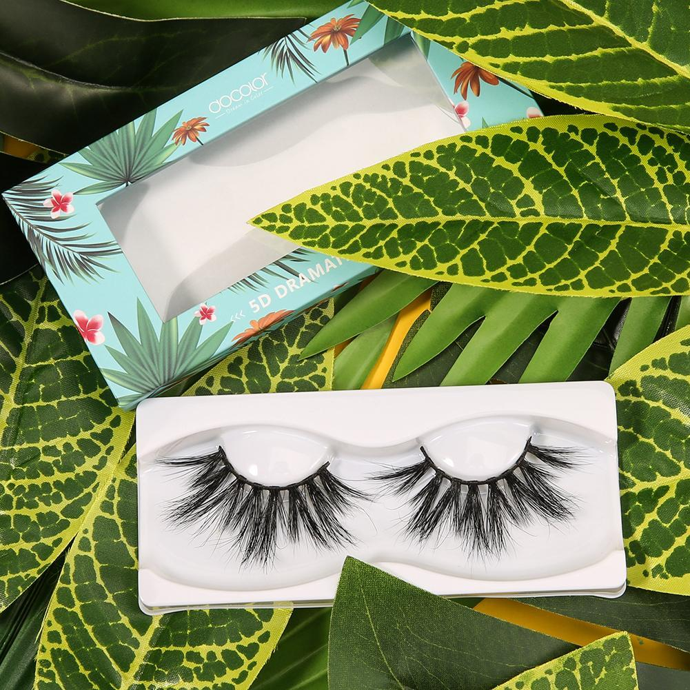 Tropic Like Its Hot! 5D Dramatic Mink Lashes (One Pair) DOCOLOR OFFICIAL