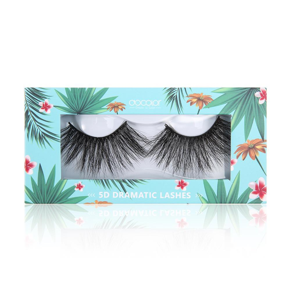 Whale Hello There. 5D Dramatic Mink Lashes (One Pair) DOCOLOR OFFICIAL