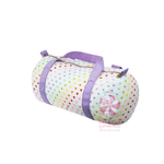 Tiny Hearts Seersucker Medium Duffel