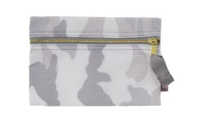 Camo Seersucker Cosmetic Bag Trio