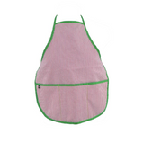 Red and Green Kid Seersucker Apron