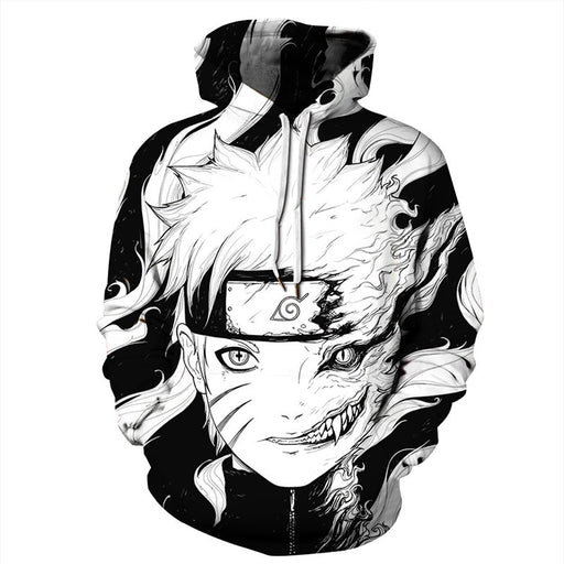Europe And The United States Explosion Models 3D Sweater Naruto Digital Printing Hoodie